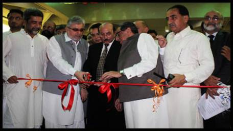 Qaim Ali Shah opens 'My Karachi Oasis of Harmony' exhibition, invites investment in Sindh