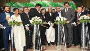 The Expo Pakistan 2017 was jointly inaugurated by Commerce Minister Pervaiz Malik, Leader of Opposition in the National Assembly Khurshid Shah, Sindh Governor Muhammad Zubair and Sindh Chief Minister Murad Ali Shah at the Karachi Expo Centre on Thursday.