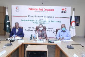 Pakistan Red Crescent convenes a coordination meeting on Urban Resilience to strengthening Emergency Response in Karachi